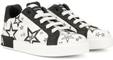 Dolce & Gabbana star print low-top sneakers