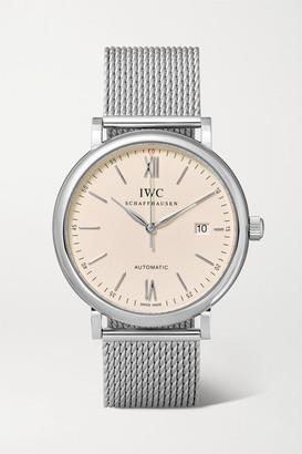 IWC SCHAFFHAUSEN - Portofino Automatic 40 Stainless Steel Watch - Silver