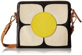 Orla Kiely Square Flower Applique Square Poppy Shoulder Bag