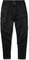 Nike Acg Stretch-cotton Cargo Trousers - Black