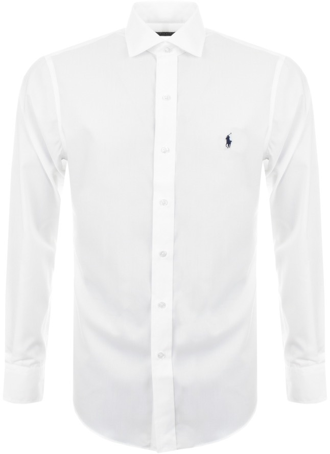 Ralph Lauren Slim Fit Shirt White
