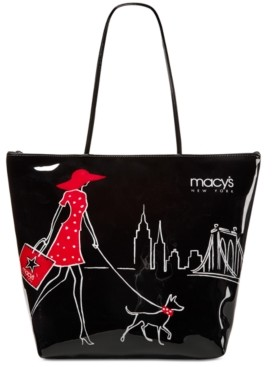 Dani Accessories Macy's Walking Dog Large Tote, Created for Macy's