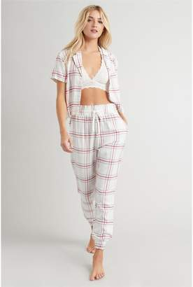 Garage Online Only Flannel Sleep Jogger Pants
