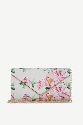 Ardene Occasion Floral Envelope Clutch