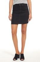 Hudson Women's Robbie High Waist Coated Denim Miniskirt