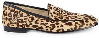 Sam Edelman Loraine Leopard-Print Calf Hair Loafers