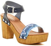 Charles David Cola Platform Heel Sandal
