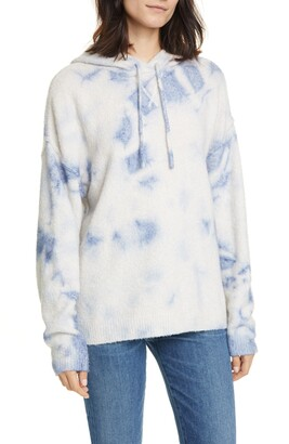 Line Philippa Merino Wool Blend Hoodie Sweater
