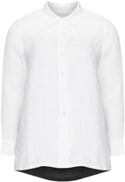 Isolde Roth Plus Size Linen-cotton shirt