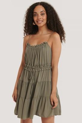 Trendyol Ruffle Pleated Mini Dress