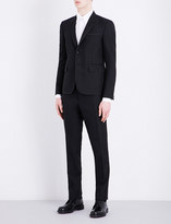 Thom Browne Notch lapel wool and mohair-blend tuxedo