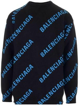 Balenciaga L/s Crewneck Knitwear