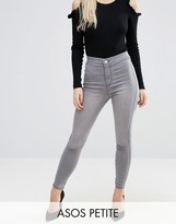 Asos Rivington High Waist Jeggings in Preston Gray