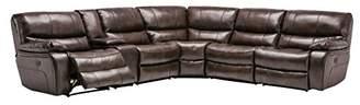 Blackjack Furniture Sectional Leather Match