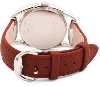 Women#39;s Swiss Made Horsebit Leather Strap Watch
