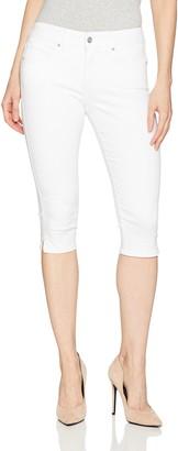 NYDJ Women's Petite Twill Skinny Capri