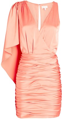 Ronny Kobo Morgan Ruched Mini Dress