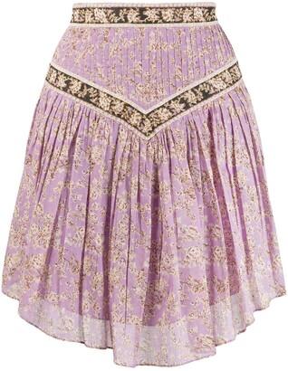 Etoile Isabel Marant Valerie floral-print skirt