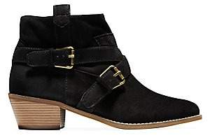 Cole Haan Women's Jensynn Buckle Suede Ankle Boots