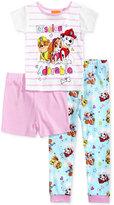 PAW Patrol 3-Pc. Cotton Mission Adorable Pajama Set, Toddler Girls (2T-5T)