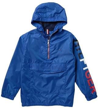 Tommy Hilfiger 1/4 Zip Hooded Jacket (Big Boys)