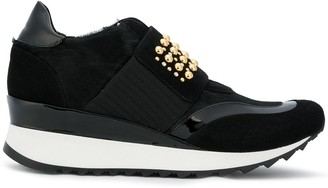 Loriblu Studded Platform Sneakers