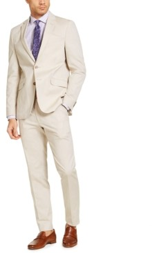 Kenneth Cole Unlisted by Men's Slim-Fit Stretch Chambray Suit, Created for Macy's