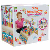 Alex Jr Busy Bead Mermaid Wooden Interactive Toy
