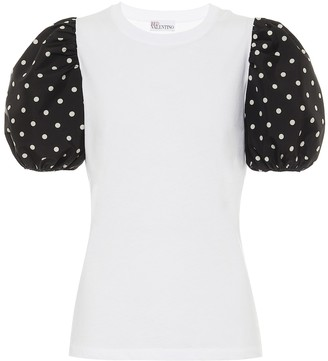 RED Valentino cotton-jersey T-shirt