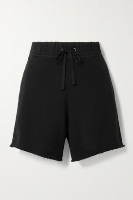 James Perse Cotton-jersey Shorts - Black