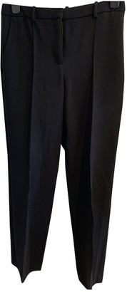 Theory Black Synthetic Trousers