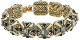 House Of Harlow Art Deco Tennis Bracelet