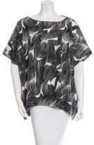 Diane von Furstenberg Silk New Hanky Tunic