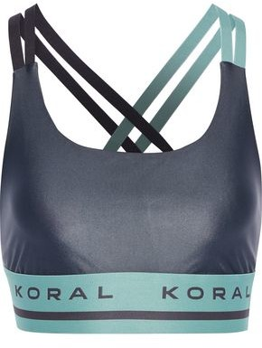 Koral Judge Energy Two-tone Stretch Sports Bra