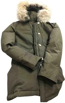 Woolrich Green Coat for Women