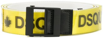 DSQUARED2 Logo Printed Belt