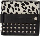 Alexander McQueen Black Punk Bifold Wallet