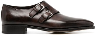 John Lobb Chapel double-buckle monk shoes