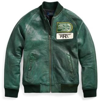 Ralph Lauren Leather Bomber Jacket