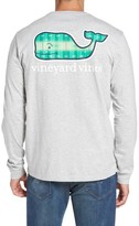 Vineyard Vines Men's Football Field Whale Logo T-Shirt