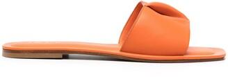 Elleme Leather-Fold Sliders