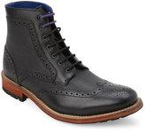 Ted Baker Black Sealls Wingtip Boots