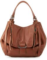 Kooba Jonnie Leather Shopper Bag, Brown/Caramel