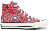 Thumbnail for your product : Converse Culture Prints Chuck 70 high-top trainers
