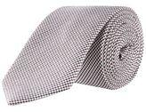 Burton Mens Montague Cream Dogtooth Tie