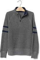 Gap Zip mockneck sweatshirt