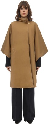 The Row Maha Reversible Cotton Drill Cape Coat