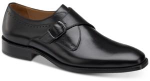 Johnston & Murphy Men's Sanborn Monk Strap Loafers Men's Shoes