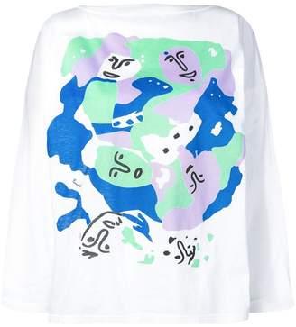 Fendi Pre-Owned 1980's longsleeved T-shirt
