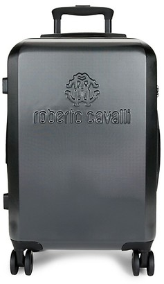 Roberto Cavalli Classic Logo Carry-On Luggage